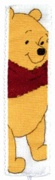 Disney Winnie The Pooh Bookmark Cross Stitch Kit